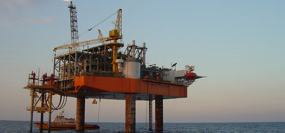 Example of a mobile offshore production unit
